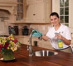 house cleaning services kitchens