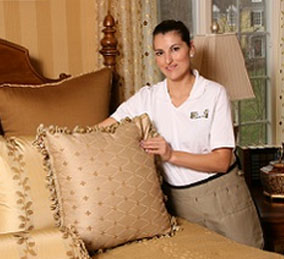 house cleaning services living areas